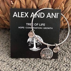 Alex and Ani Tree of Life bracelet